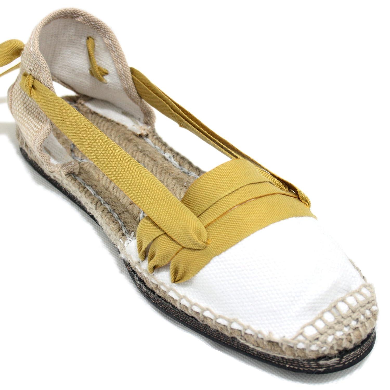 7dfa4c16 Zapatos TORRES VALENCIANA VALENCIANAS BLANCAS MUJER ALPARGATAS 301138