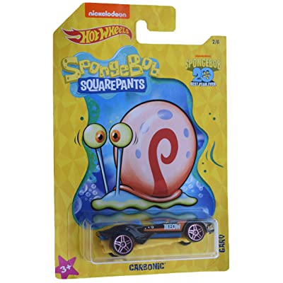 Hot Wheels Spongebob Carbonic 2/6, Black: Toys & Games