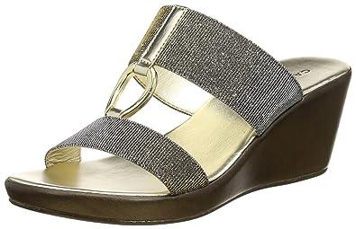 39058ce047575 Carvela Comfort Women's Salt Np Open-Toe Sandals, Gold (Metal Comb ...