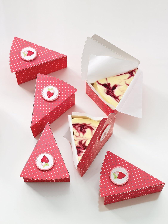 Amazon Com Martha Stewart Crafts Pie Box Garden Party Cake Boxes Kitchen Dining