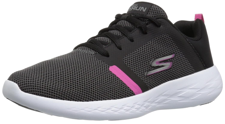 noir Skechers Go Run 600-Revel, Chaussures de Fitness Femme