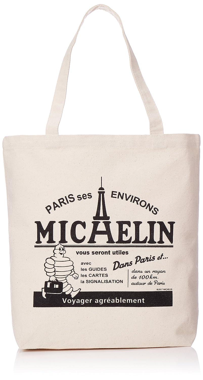 [ミシュラン] キャンバストートバッグ PARIS B4収納