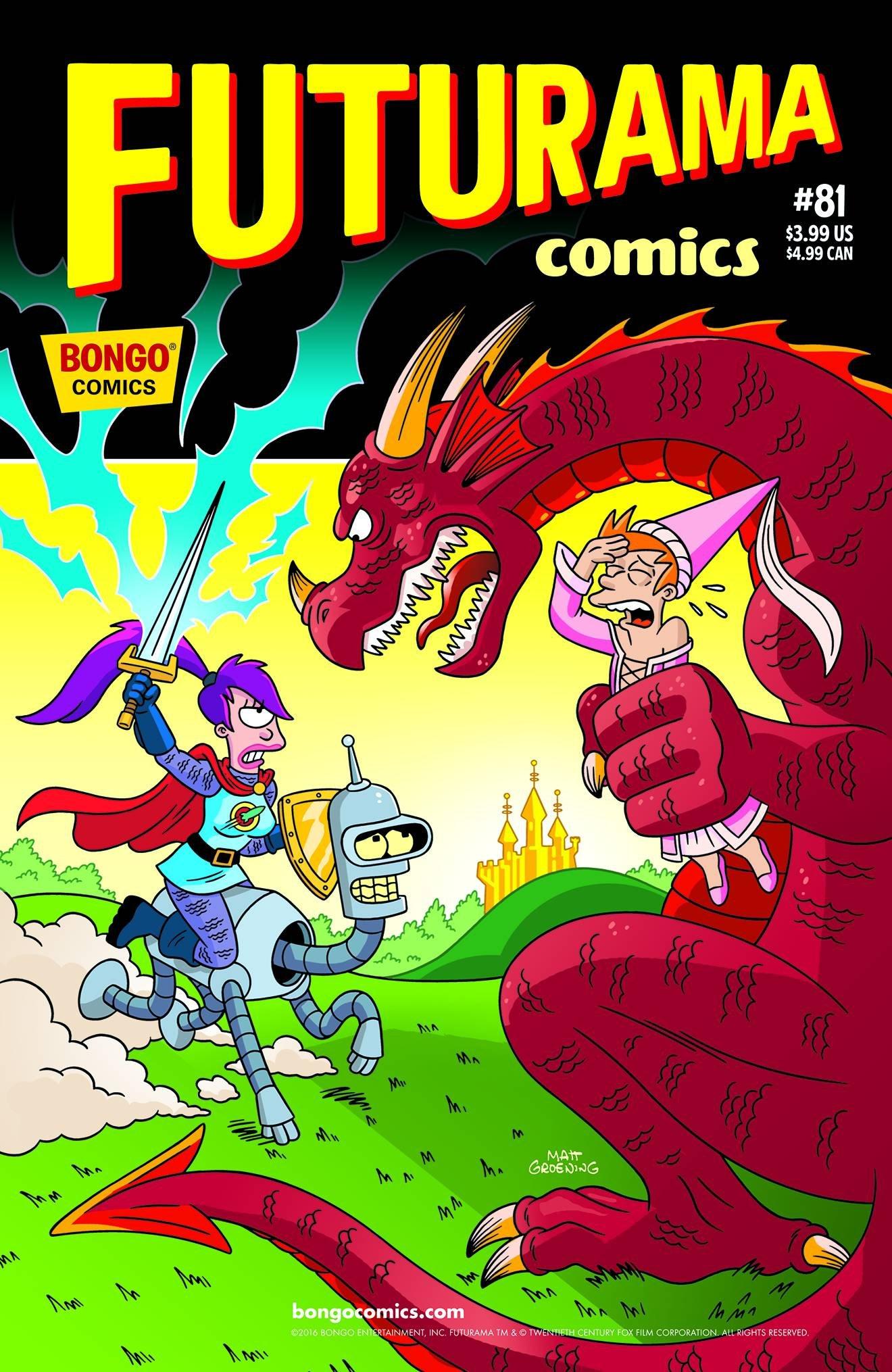 FUTURAMA COMICS #81 Comics – 2016