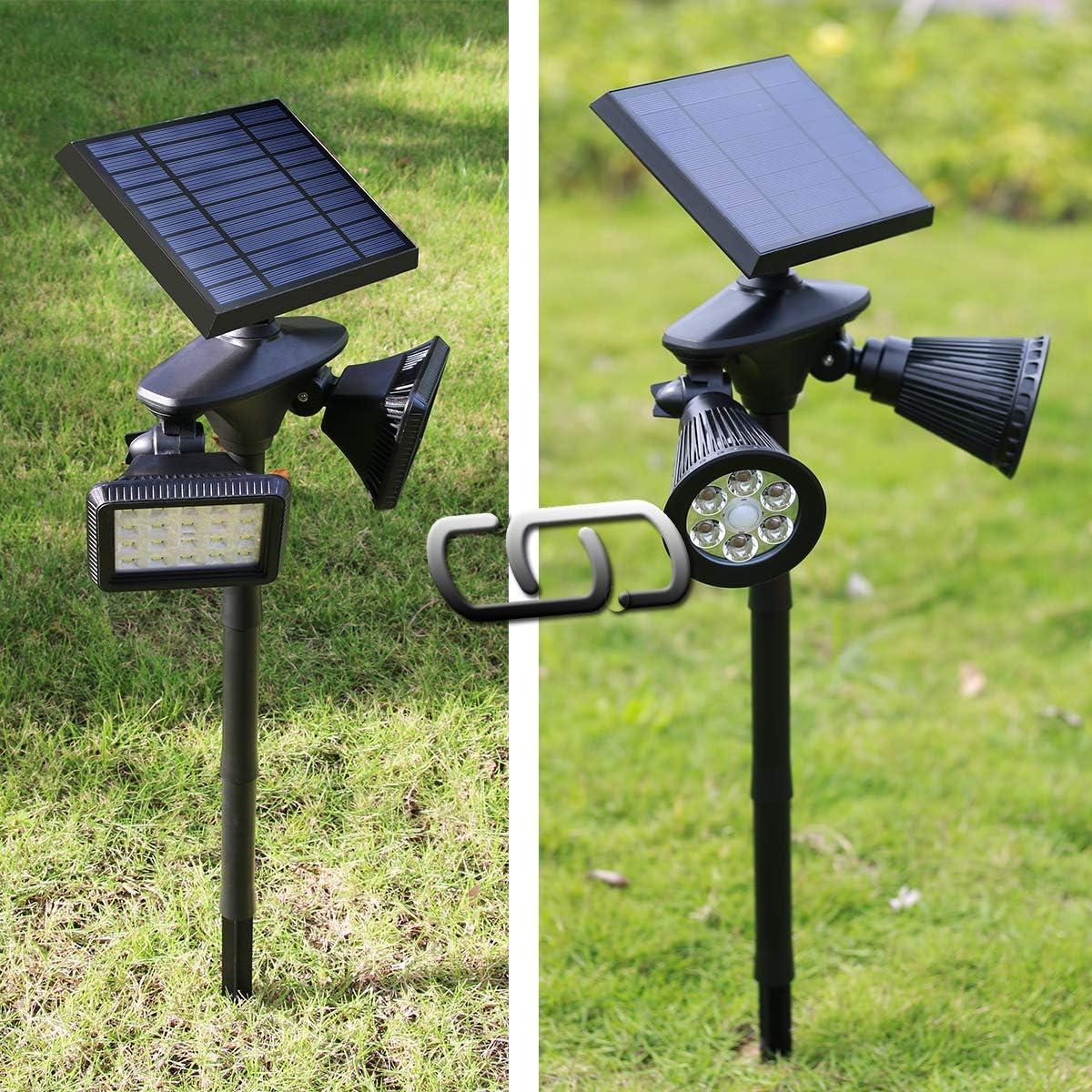 Bundle of Solar Motion Sensor Floodlight & Solar PIR Spotlight