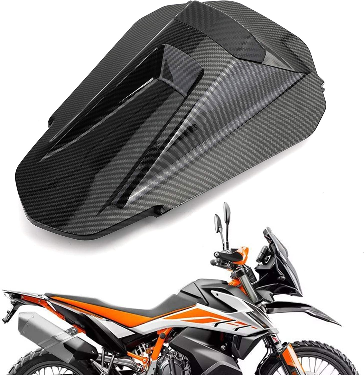 Areyourshop 1 Piece Motorcycle ABS Rear Seat Fairing Cover Cowl For K-T-M 790 DUKE 2019-2020