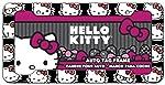Chroma 42558 - Cabezales de plástico para Hello Kitty (12,5 x 6,25 x 0,2 cm), Color Negro, Blanco y Rojo