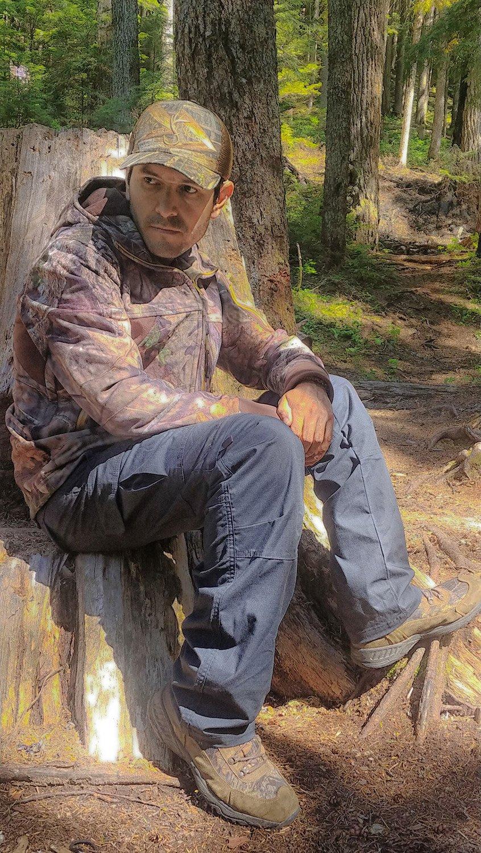 HARD LAND Herren Convertible Wasserdichte Hosen Ripstop Zipoff Zipoff Ripstop Hosen Outdoor Wandern Camping Teflon cdcb1f