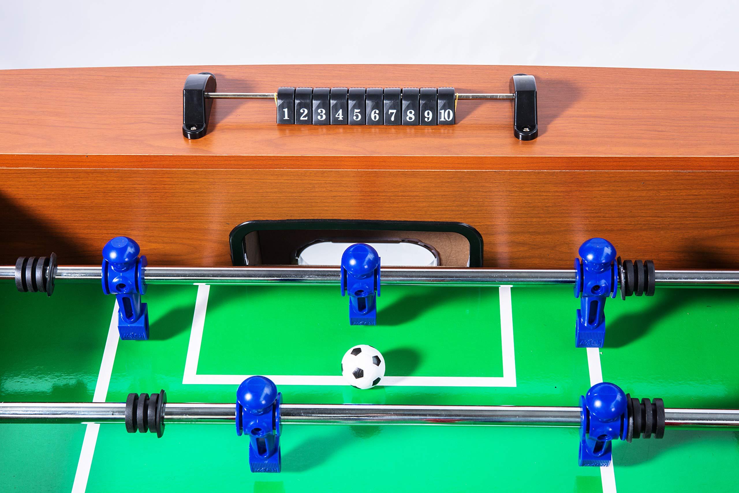 KICK Legend 55'' in Foosball Table (Brown) by KICK
