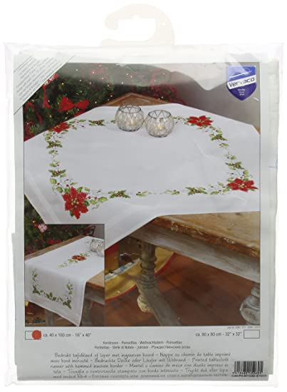 Stella Di Natale Punto Croce.Vervaco 0013262 Laufer 2377 Stella Di Natale Prestampato