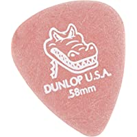 Dunlop 417P.58 Gator Grip, Red.58mm, 12/Player's Pack