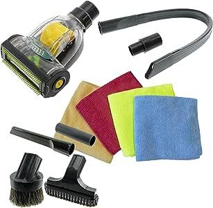 Spares2go coche Valet Turbo piso cepillo boquilla para tapicería, Kit, para Morphy Richards aspiradora (32 mm/35 mm): Amazon.es: Hogar