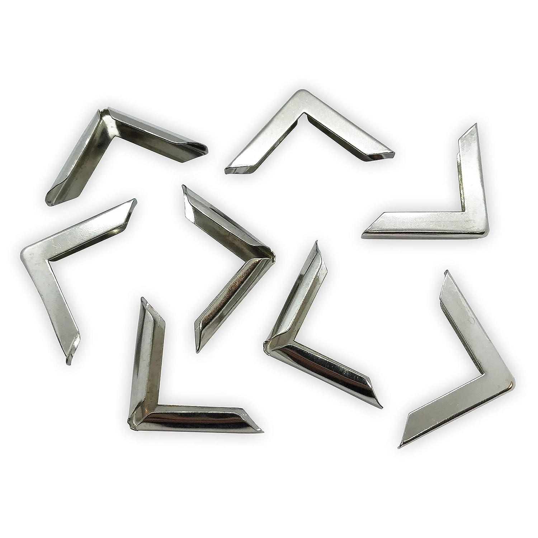 Libro paraspigoli–Protezione bordi–argento–22x 22x 3.5mm Gobrecht & Ulrich