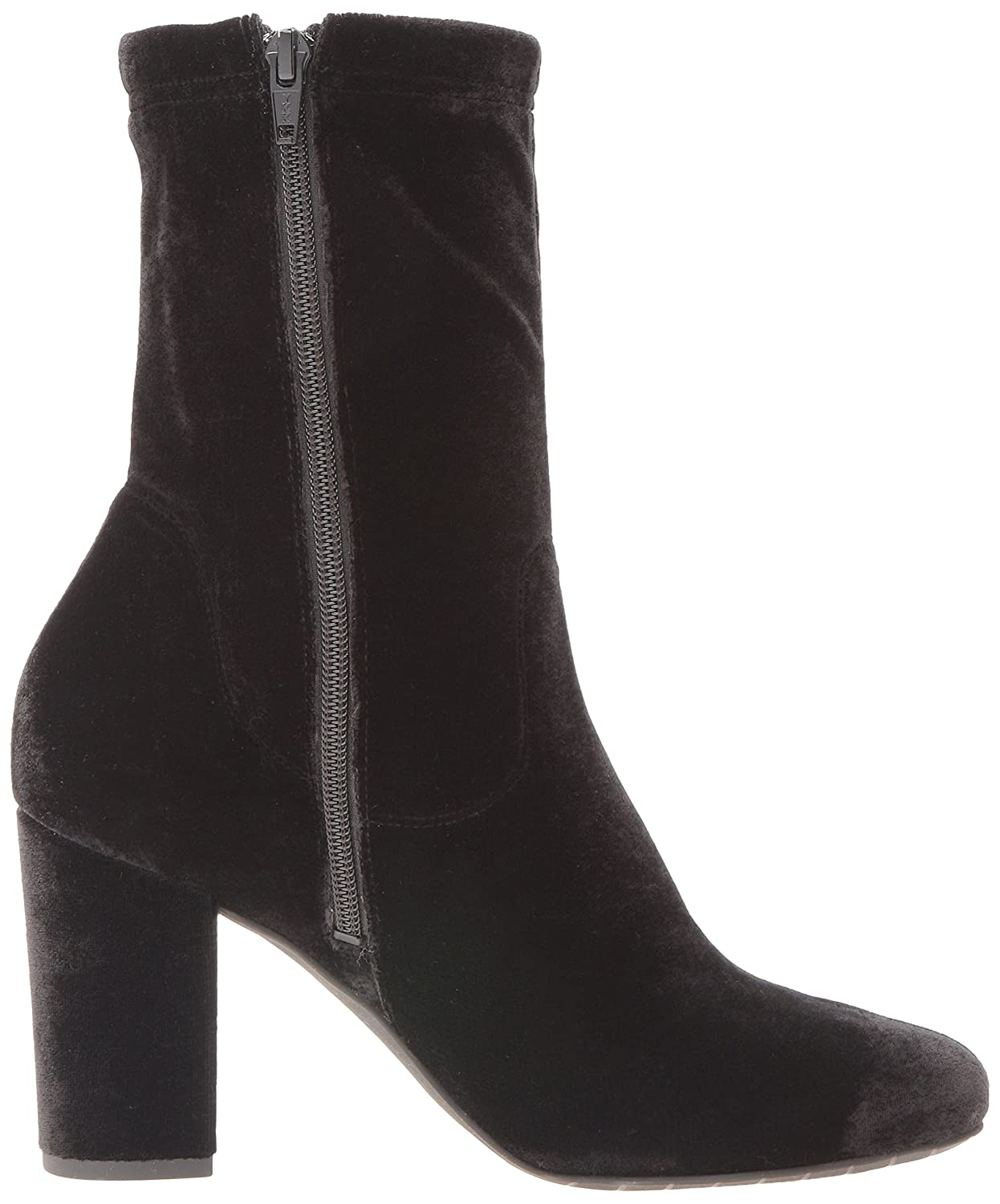 Kenneth Cole New York Women's Alyssa Ankle Bootie B01MEERV75 6 B(M) US|Black Velvet