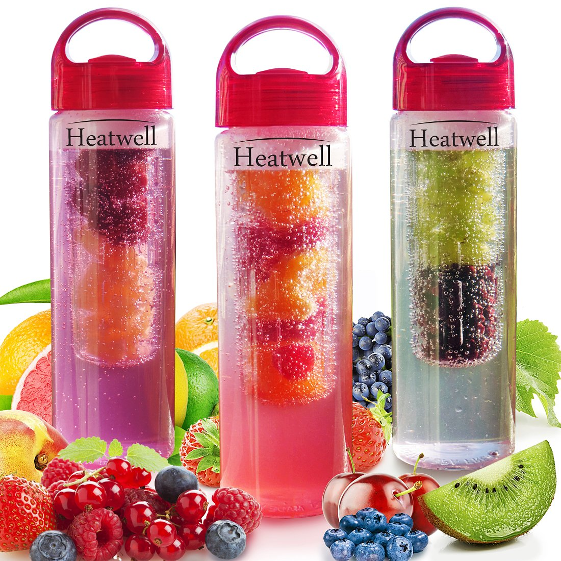 Heatwell Fruit Infuser Bottle for Flavored