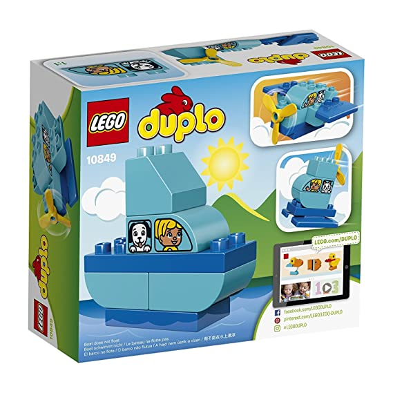 Lego 10849 My First Plane Building Set Amazon Toys Games