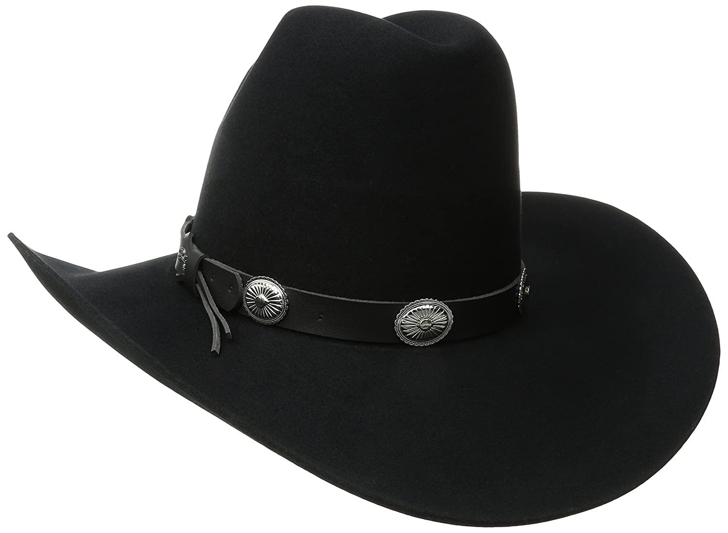 c8ef63c45bf59 Bailey of Hollywood Western Men s Wool Felt Tombstone Hat at Amazon Men s  Clothing store