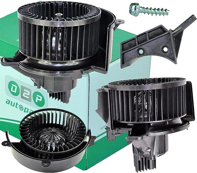 D2P Calentador Ventilador Motor del Ventilador para Opel Zafira B (Modelos a Partir de 2005) 13333050, 1845134: Amazon.es: Coche y moto