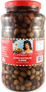 Cecilia Nostraline Olives with Brine, 2.9 kg