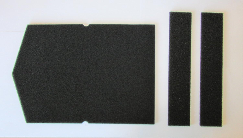Juego de filtros para Miele, filtro de esponja 6057930y 9688381, para secadora de condensación con bomba de calor