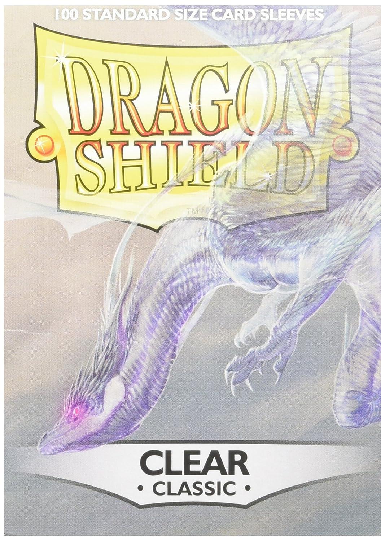 Pegasus Arcane Tinmen 10001 Dragon Shield - Fundas Protectoras para Cartas coleccionables (100 Unidades), Transparente