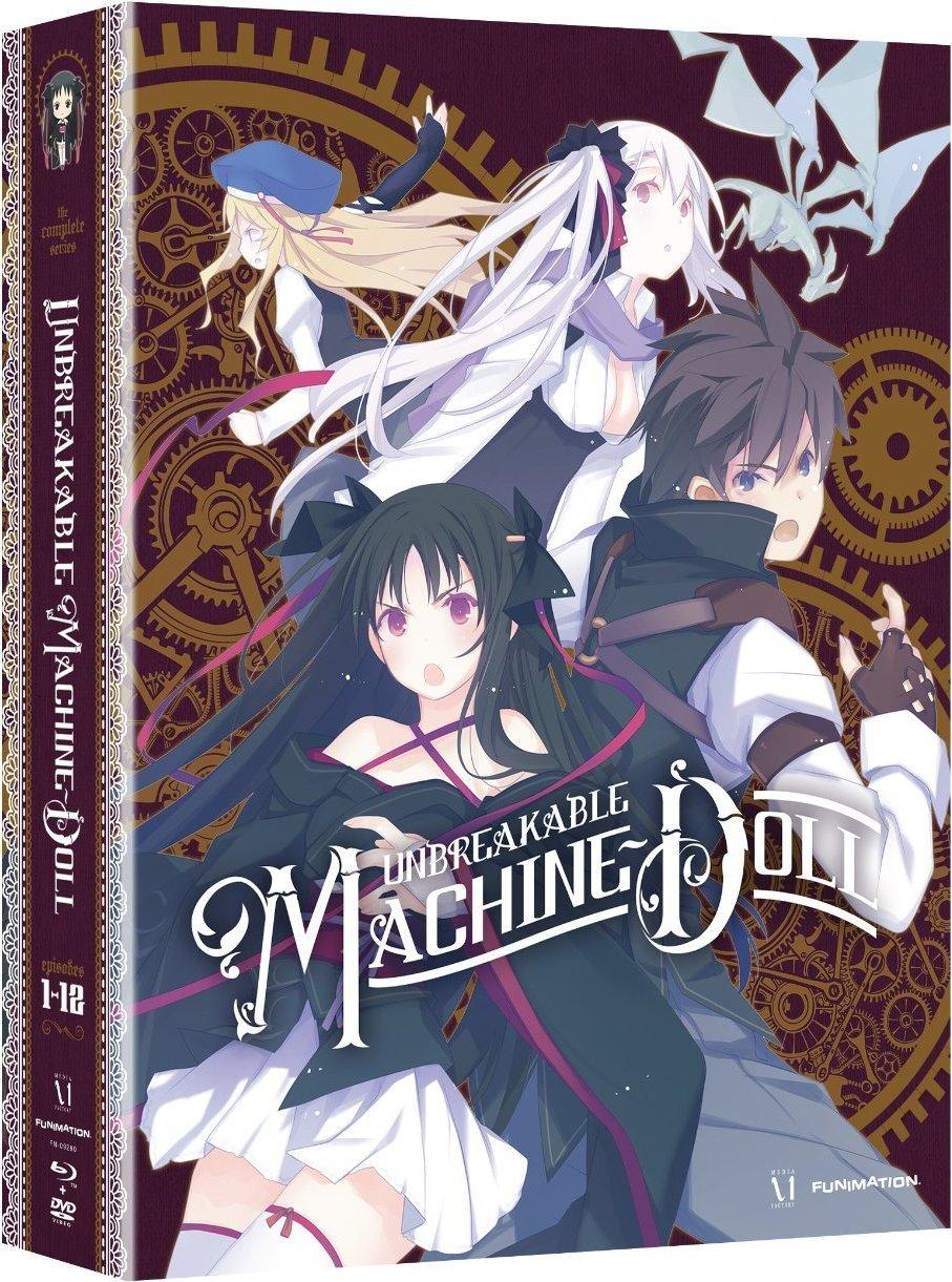 機巧少女は傷つかない:コンプリートシリーズ 限定版 北米版 / Unbreakable Machine Doll: Complete Series [Blu-ray+DVD][Import] B00R7ECVWW