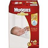 HUGGIES Little Snugglers Baby Diapers, Size Newborn, 132 ct
