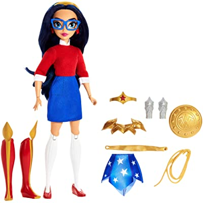 DC Super Hero Girls: Teen to Super Life Wonder Woman Doll: Toys & Games