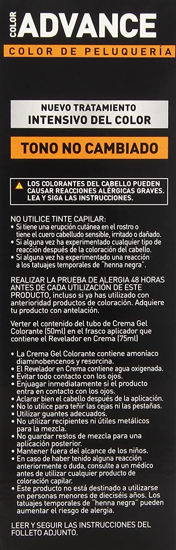 Llongueras Advance Tinte de Cabello Permanente Tono #6.24 Marrón Macadamia