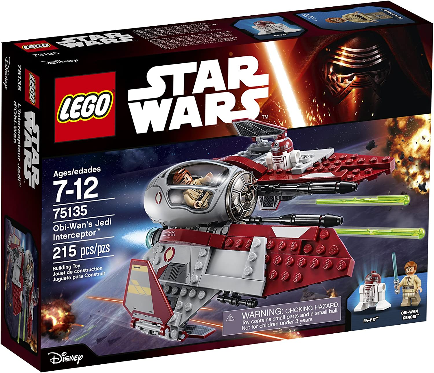 LEGO Star Wars Obi-Wanâ€s Jedi Interceptor 75135