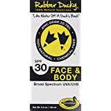 Rubber Ducky all natural sunscreen with SPF 30 for Face and Body