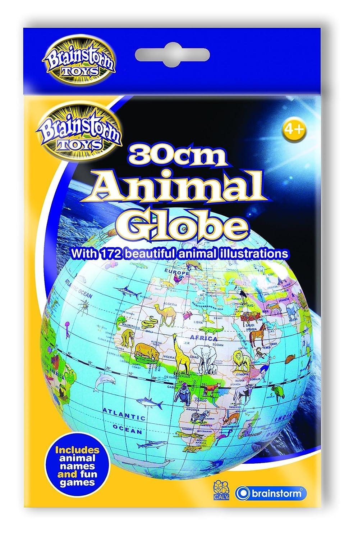 Brainstorm Toys B1710 30 cm Animal Globe: Amazon co uk: Toys