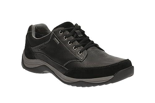 Clarks Baystone Ir Zapatos Gtx Para Hombre Amplia Casual