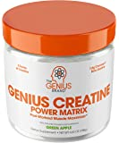 Genius Creatine Powder, Post Workout Supplement For Men and Women with Creapure Monohydrate, Hydrochloride Hcl…