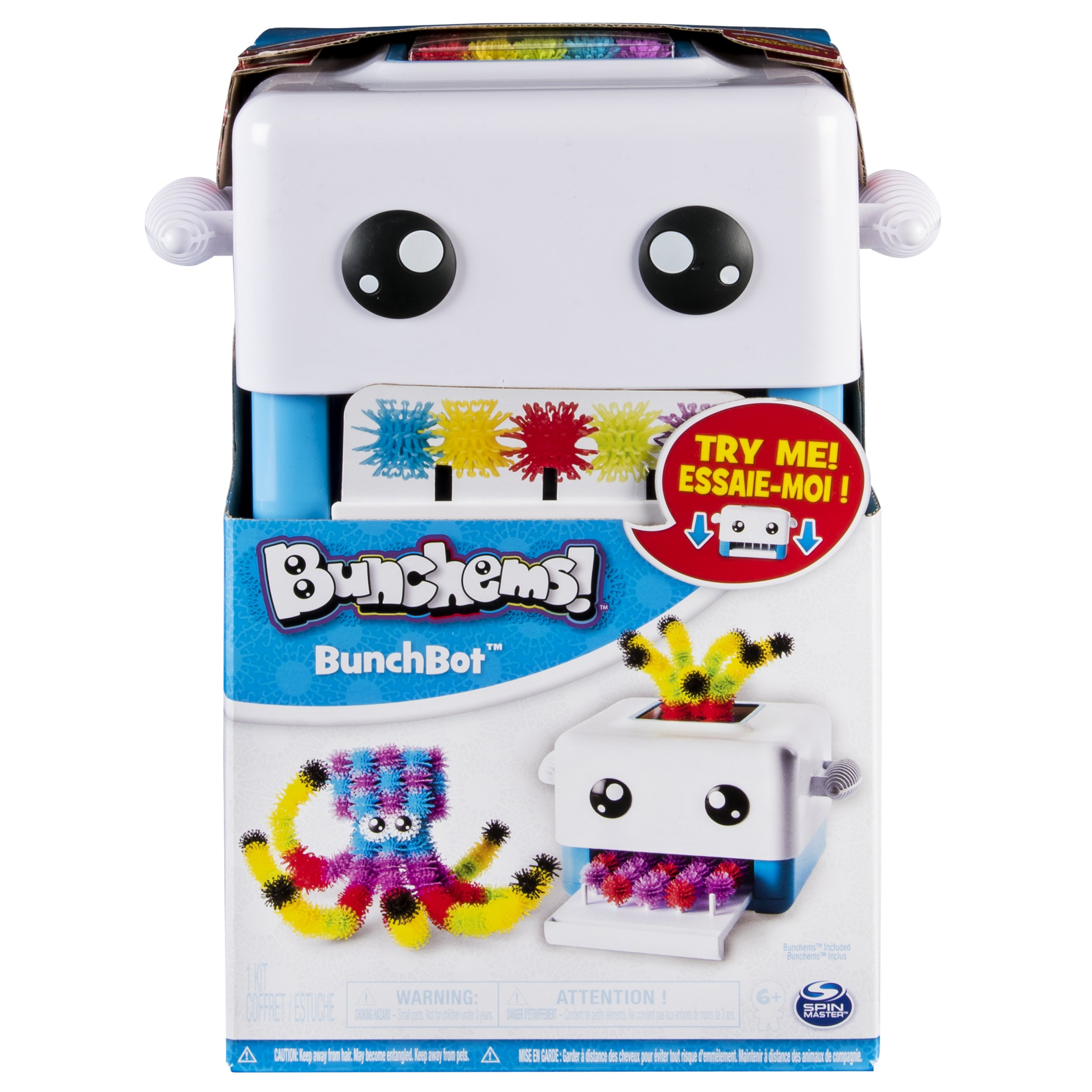 Bunchems BunchBot Bunchems 1080g Compuestos para cerámica y modelaje (Bunchems,, Niños, 300