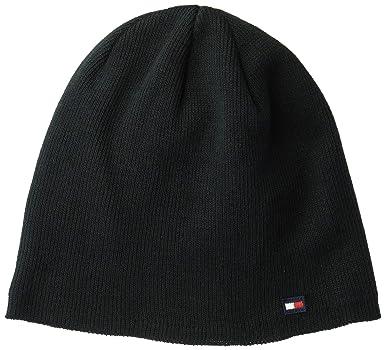 d97771ec05808 Tommy Hilfiger Men s Cold Weather Knit Beanie