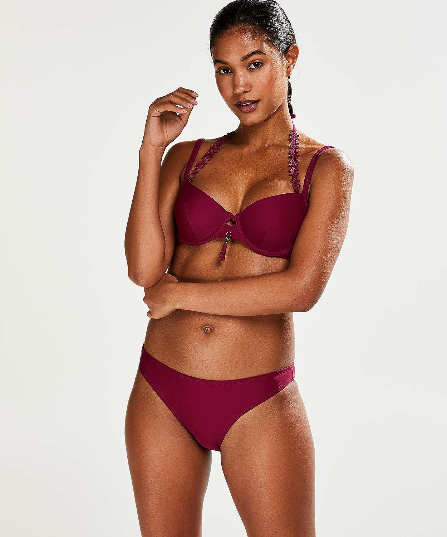 HUNKEM/ÖLLER Femme Culotte de Bikini Taille Basse Amanda Queen