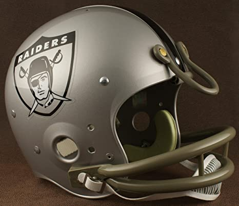 detailed look 2906b f3ef1 Amazon.com : Riddell Oakland Raiders 1963 NFL Authentic ...