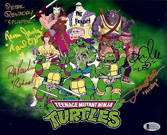 Teenage Mutant Ninja Turtles Cast Signed Autographed 8X10 ...