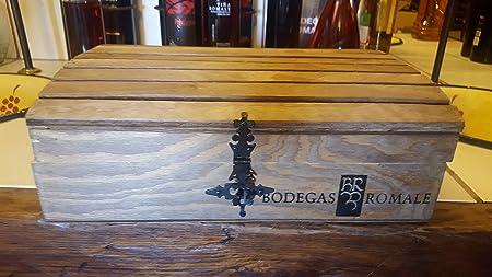 Viña Romale - Pack Vino y Cava 3 botellas - Vino Tinto Crianza + Vino Blanco Verdejo Semidulce + Cava Brut Nature - Cofre Pack Regalo