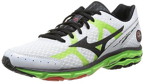 0a4f8c014 ... where to buy mizuno wave rider 17 scarpe sportive uomo blanco verde  44.5 7f0ca aca21