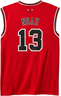 NBA Chicago Bulls Red Replica Jersey Joakim Noah #13