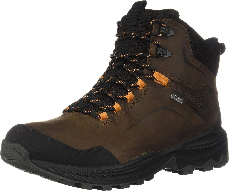 Merrell Mens High Rise Hiking Boots