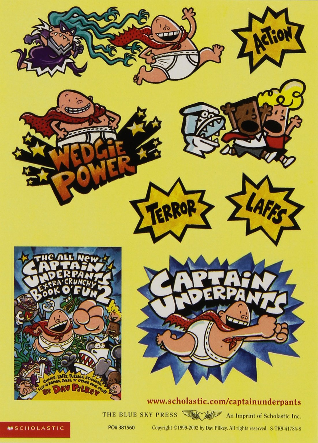 The New Captain Underpants Collection (Books 1-5) by The Blue Sky Press (Image #7)