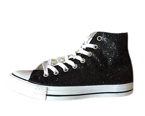 Converse All Star glitter nere 158