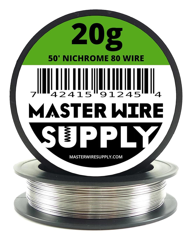 Nichrome 80 - 50' - 20 Gauge Resistance Wire Master Wire Supply