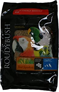 RoudyBush High Energy Breeder Bird Food, Medium, 25-Pound