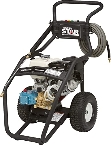 NorthStar Gas Cold Water Pressure Washer – 4,000 PSI, 3.5 GPM, Honda Engine, Model Number 15782020