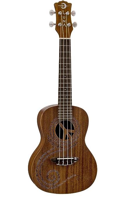 Amazon Luna Ukulele Concert Malu Peace Musical Instruments