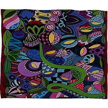 Amazon.com: Negar diseños Lara Kulpa crecer manta de forro ...