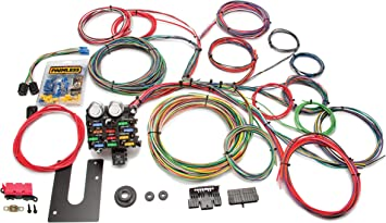 amazon.com: painless performance 10102 classic customizable chassis harness,  key in dash, 21 circuits: automotive  amazon.com